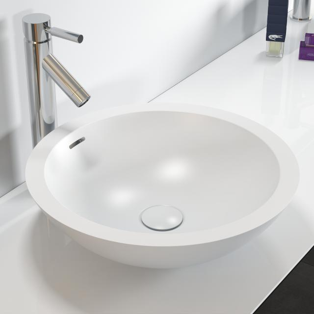Riho Avella round countertop washbasin