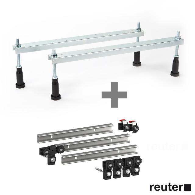 Riho bath legs incl. MEPA set of 3 support rails