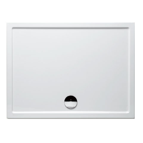 Riho Davos rectangular shower tray with panelling
