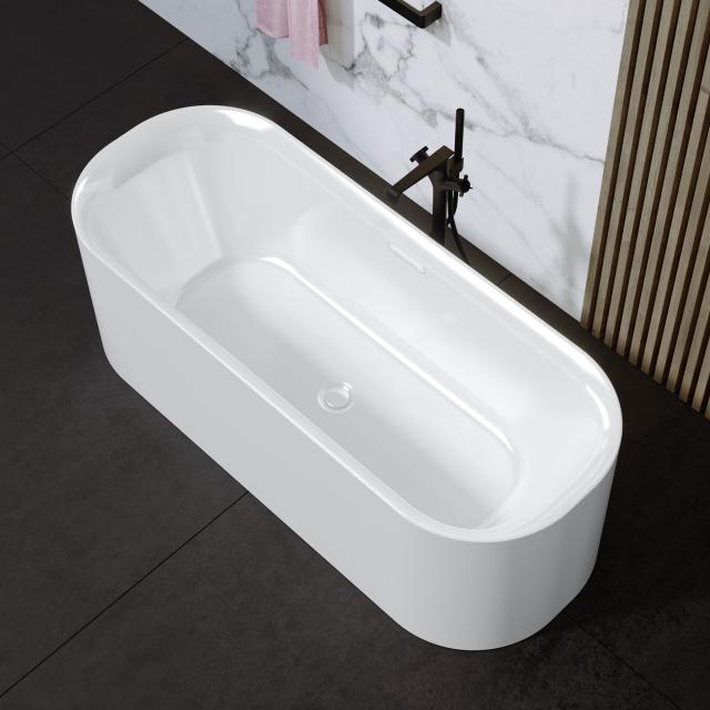 Riho Devotion Free freestanding oval bath white, without filling function