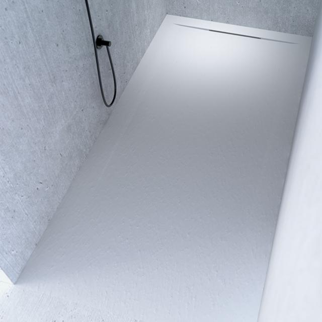 Riho Isola rectangular shower tray matt white