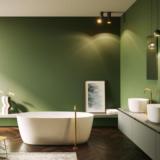 Riho Oval freestanding bath