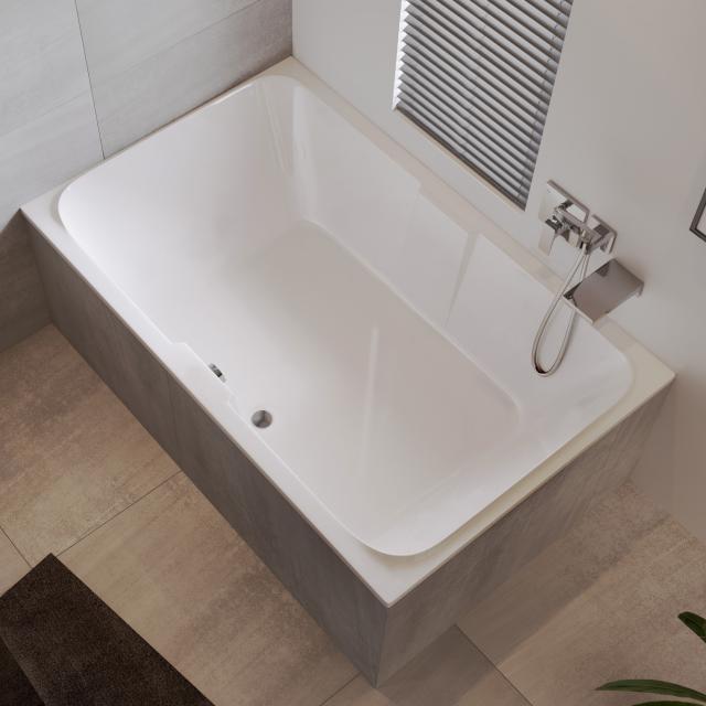 Riho Sobek rectangular bath, built-in