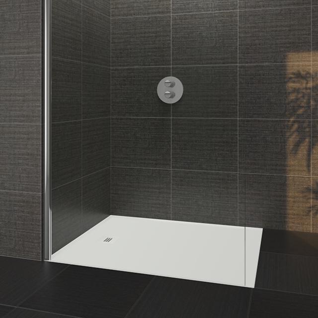 Riho Velvet Sole rectangular shower tray ultra flat