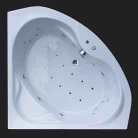 Reuter Kollektion Komfort waste cover for corner whirl bath w. Premium whirl system