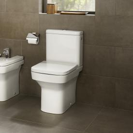 Roca Dama floorstanding close-coupled compact washdown toilet SET, with toilet seat