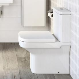 Roca Dama floorstanding close-coupled washdown toilet SET, with toilet seat vertical outlet