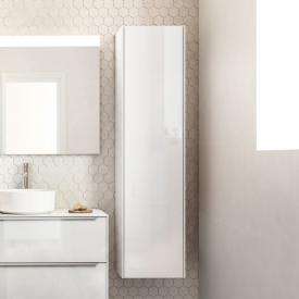 Roca Inspira LED tall unit with 1 door and 1 mirror front white gloss / corpus white gloss