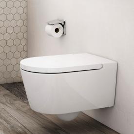 Roca Inspira wall-mounted washdown toilet round with toilet seat white
