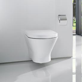 Roca Nexo wall-mounted washdown toilet, rimless