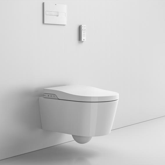 Roca Inspira In-Wash shower toilet, with toilet seat