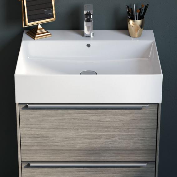 Roca Inspira washbasin white, with MaxiClean