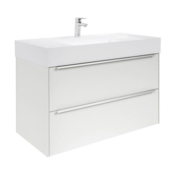Roca Inspira vanity unit with washbasin with 2 pull-out compartments front white gloss / corpus white gloss