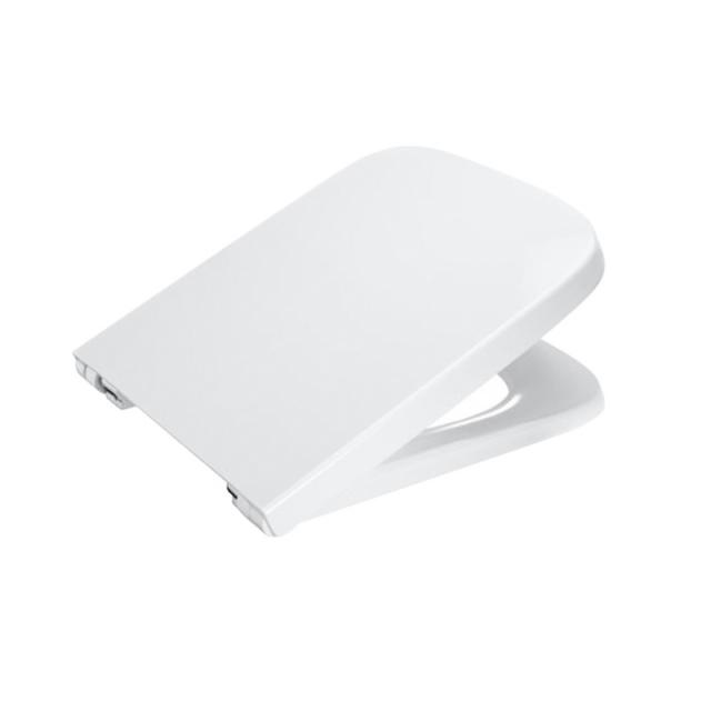 Roca Dama compact toilet seat, with soft-close
