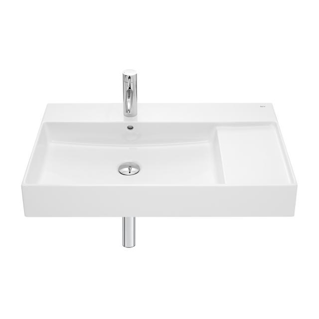 Roca Inspira washbasin with shelf surface right white