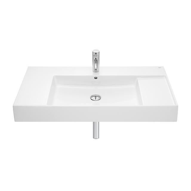 Roca Inspira washbasin with shelf surface white