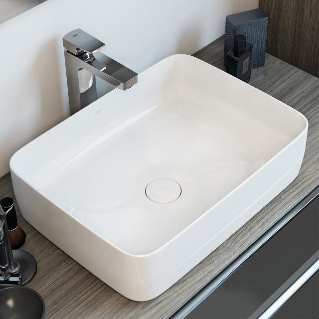 Roca Inspira washbowl, square white