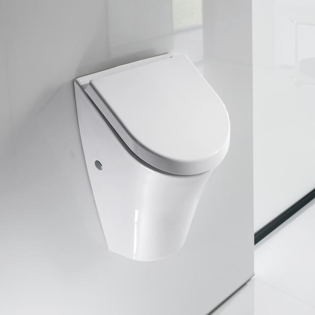 Roca Nexo urinal, rear supply with lid