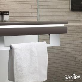 Sanipa 2morrowLight countertop with LED lighting fumo