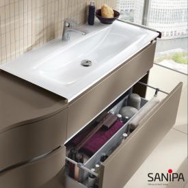 Sanipa CantoBay glass washbasin