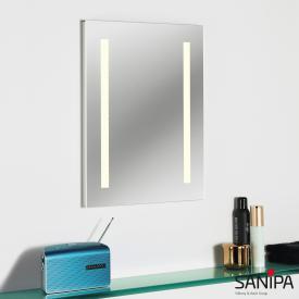 Sanipa Reflection illuminated mirror LUCY with LED lighting warm white