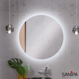 Sanipa Reflection LOLA illuminated mirror with LED lighting