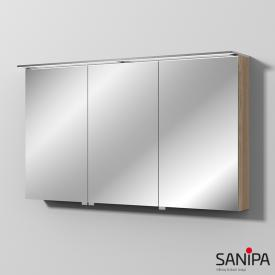 Sanipa Reflection MALTE mirror cabinet with LED lighting elm natural touch