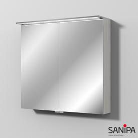 Sanipa Reflection MALTE mirror cabinet with LED lighting light linden