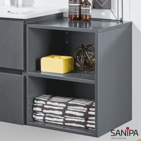 Sanipa Solo One Euphoria/Harmonia add-on rack anthracite gloss
