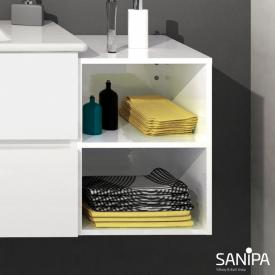 Sanipa Solo One Euphoria/Harmonia add-on rack white gloss