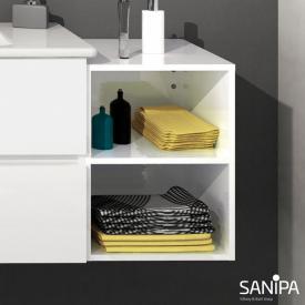 Sanipa Solo One Euphoria/Harmonia add-on rack white gloss