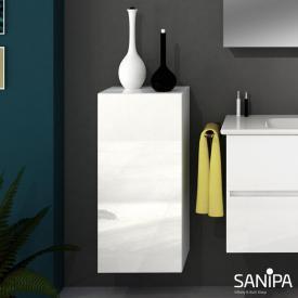Sanipa Solo One Euphoria/Harmonia medium unit with 1 door front white gloss / corpus white gloss