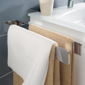 Sanipa Universal towel bar, 2 piece, fixed