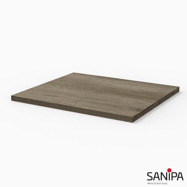 Sanipa 3way countertop nebraska oak
