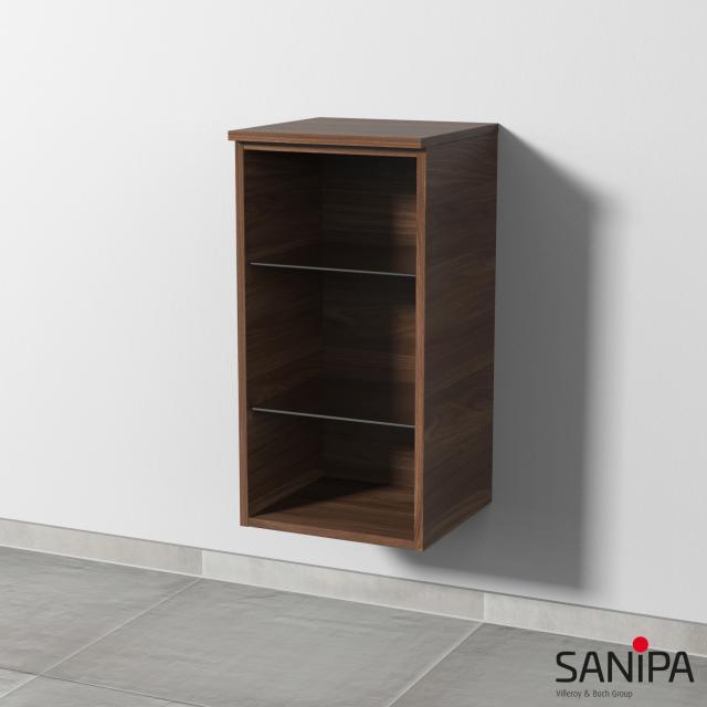 Sanipa 3way rack module cherry natural touch