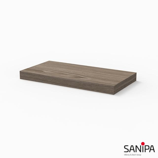 Sanipa Cubes shelf pine grey