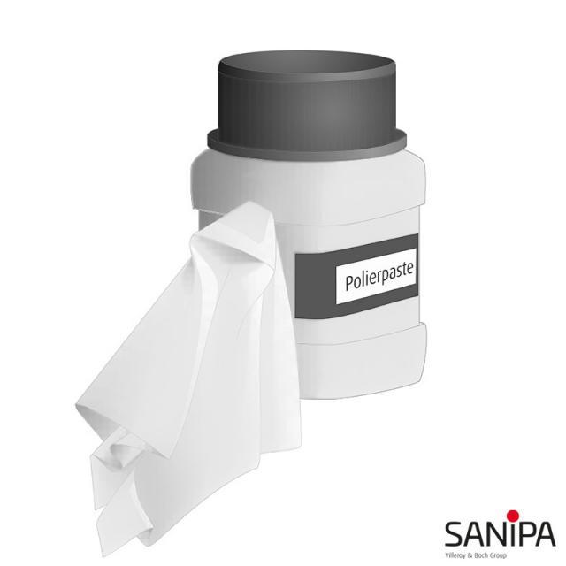 Sanipa mineral cast maintenance set, 1 set