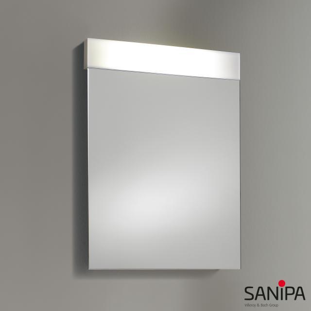 Sanipa Reflection LINUS illuminated mirror with LED lighting without washbasin lighting