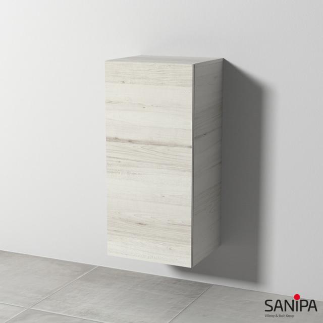 Sanipa Solo One Euphoria/Harmonia medium unit with 1 door front light linden / corpus light linden