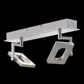 Fischer & Honsel Les Mans LED ceiling spotlight, double