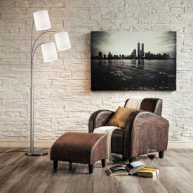 Fischer & Honsel Loft 4 floor lamp with dimmer