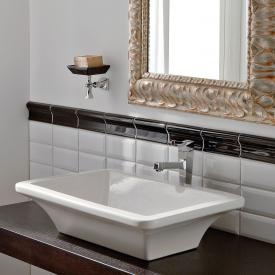 Scarabeo Butterfly countertop washbasin white, with BIO system coating
