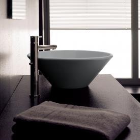 Scarabeo Cono countertop washbasin ash