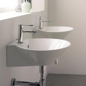 Scarabeo Cono R countertop or wall-mounted washbasin white