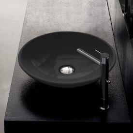 Scarabeo Cup countertop washbasin black