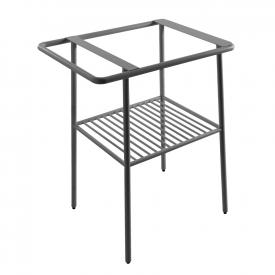 Scarabeo Fuji stand for 6001/6003 W: 59 H: 75 D: 44 cm matt anthracite