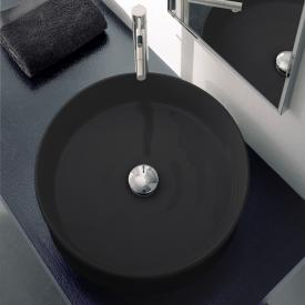 Scarabeo Geo countertop washbasin black
