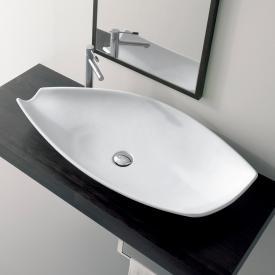 Scarabeo Kong countertop washbasin white
