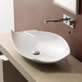 Scarabeo Kong countertop washbasin white, with BIO system coating