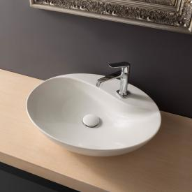 Scarabeo Moai countertop washbasin white